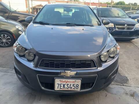 2013 Chevrolet Sonic for sale at Aria Auto Sales in El Cajon CA