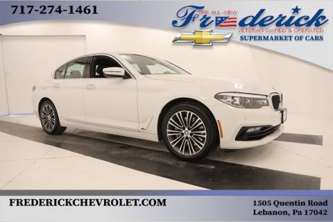 2018 BMW 5 Series for sale at Lancaster Pre-Owned in Lancaster PA