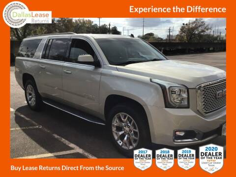 2015 GMC Yukon XL for sale at Dallas Auto Finance in Dallas TX