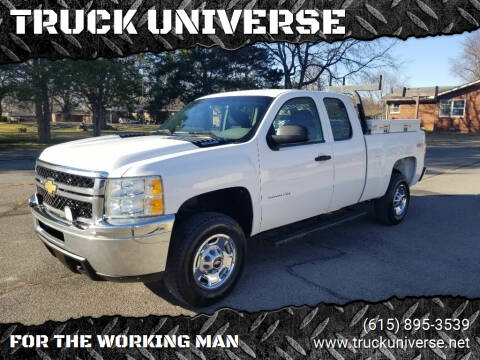 2011 Chevrolet Silverado 2500HD for sale at TRUCK UNIVERSE in Murfreesboro TN