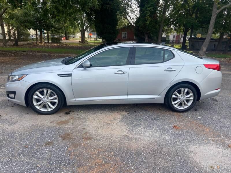 2012 Kia Optima for sale at Cherry Motors in Greenville SC