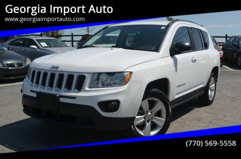 2011 Jeep Compass for sale at Georgia Import Auto in Alpharetta GA