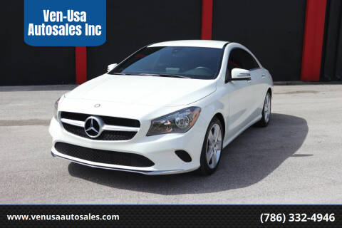 2017 Mercedes-Benz CLA for sale at Ven-Usa Autosales Inc in Miami FL