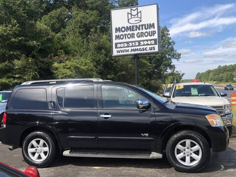 2008 Nissan Armada for sale at Momentum Motor Group in Lancaster SC