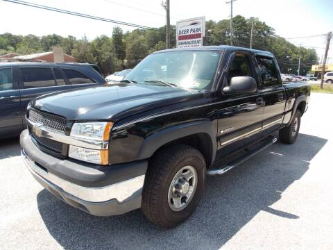2005 Chevrolet Silverado 1500HD for sale at Deer Park Auto Sales Corp in Newport News VA