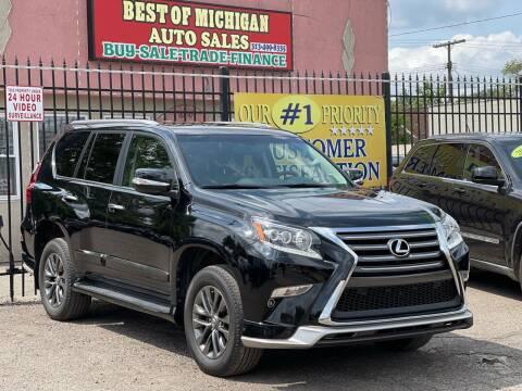 2018 Lexus GX 460 for sale at Best of Michigan Auto Sales in Detroit MI