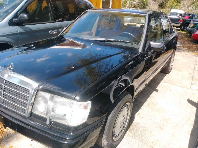 1989 Mercedes-Benz E-Class for sale at U-Safe Auto Sales in Deland FL