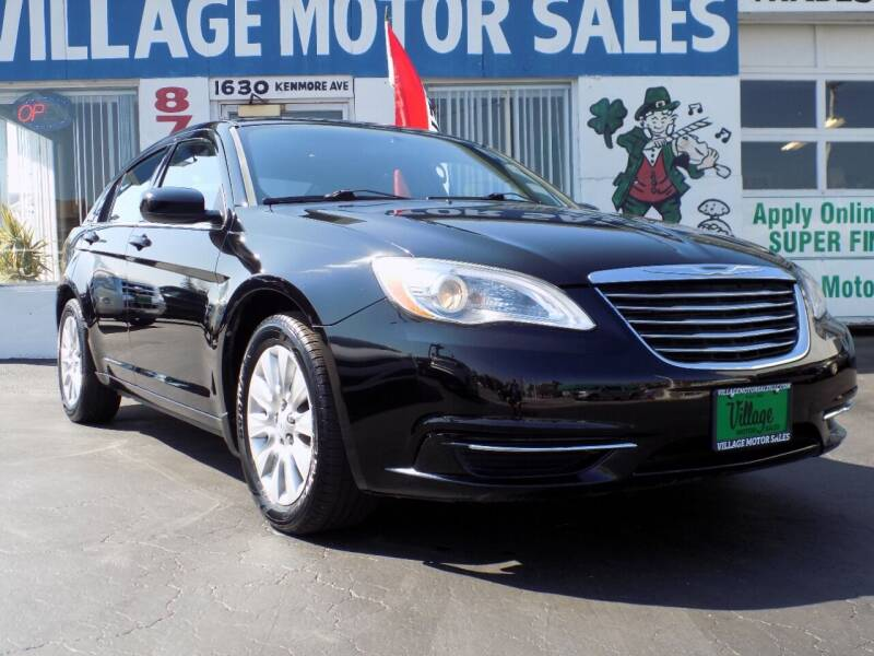 2013 Chrysler 200 for sale at Village Motor Sales in Buffalo NY
