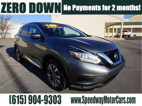 2015 Nissan Murano for sale at Speedway Motors in Murfreesboro TN