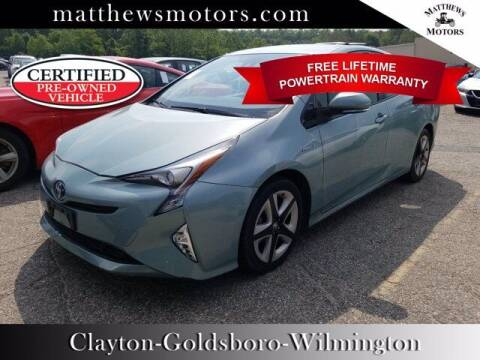 2017 Toyota Prius for sale at Auto Finance of Raleigh in Raleigh NC