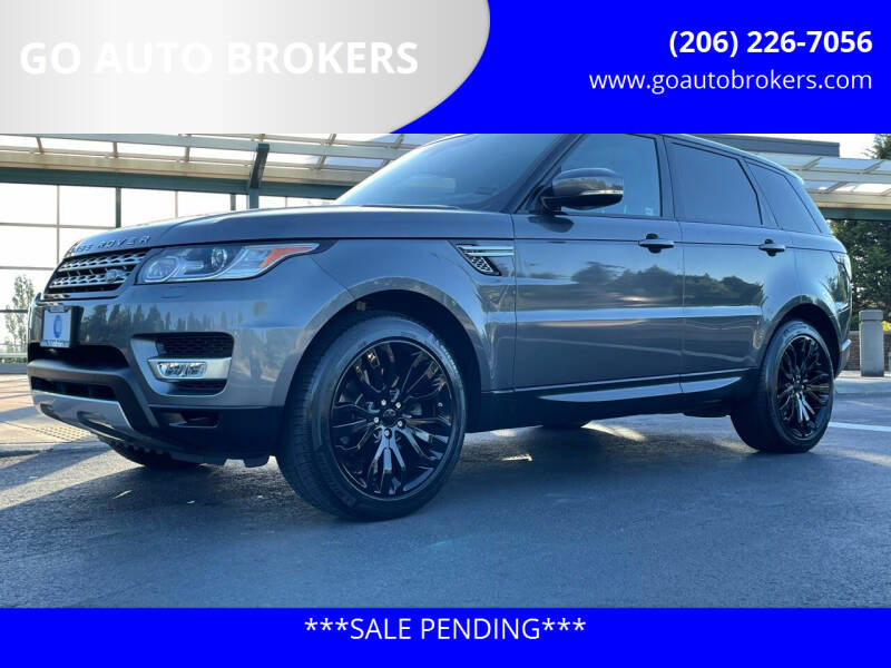 2014 Land Rover Range Rover Sport for sale at GO AUTO BROKERS in Bellevue WA