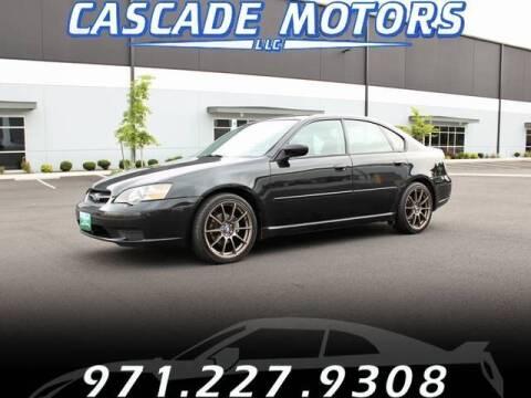 2005 Subaru Legacy for sale at Cascade Motors in Portland OR