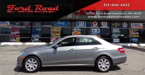 2012 Mercedes-Benz E-Class for sale at Ford Road Motor Sales in Dearborn MI
