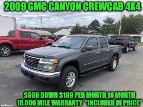 2009 GMC Canyon for sale at D&D Auto Sales, LLC in Rowley MA