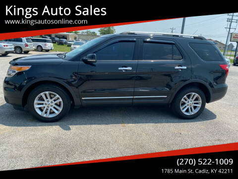 2013 Ford Explorer for sale at Kings Auto Sales in Cadiz KY