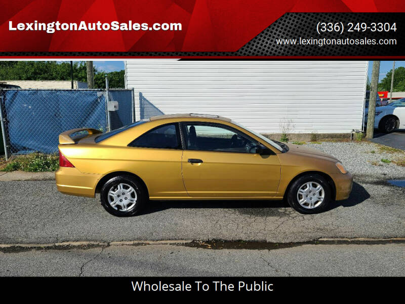 2001 Honda Civic for sale at LexingtonAutoSales.com in Lexington NC