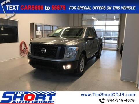 2019 Nissan Titan for sale at Tim Short Chrysler in Morehead KY
