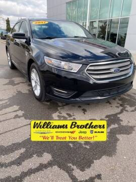 2017 Ford Taurus for sale at Williams Brothers - Pre-Owned Monroe in Monroe MI
