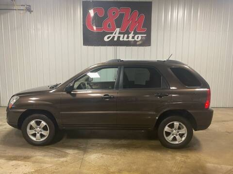 2009 Kia Sportage for sale at C&M Auto in Worthing SD