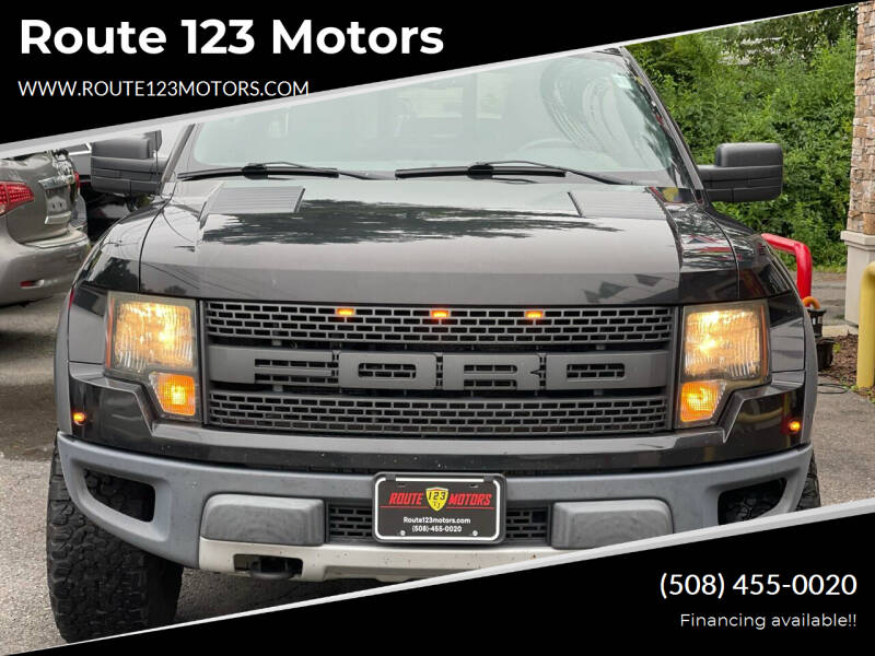 2010 Ford F-150 for sale at Route 123 Motors in Norton MA