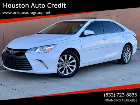 2015 Toyota Camry for sale at Houston Auto Credit in Houston TX