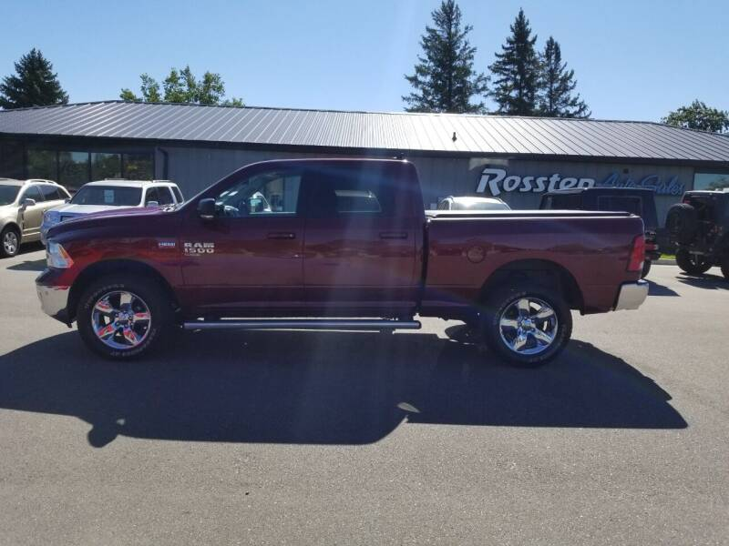 2019 RAM Ram Pickup 1500 Classic for sale at ROSSTEN AUTO SALES in Grand Forks ND