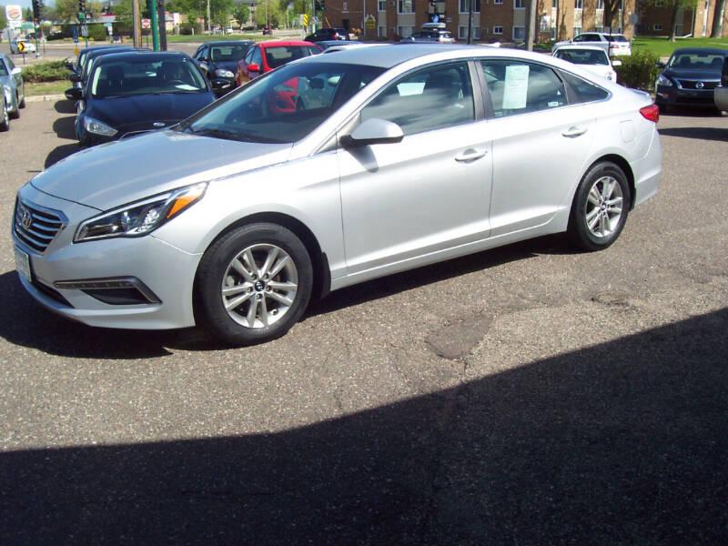 2015 Hyundai Sonata for sale at TOWER AUTO MART in Minneapolis MN