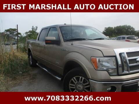 2011 Ford F-150 for sale at First Marshall Auto Auction in Harvey IL