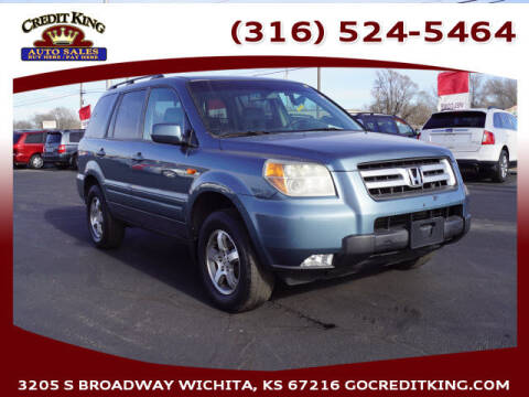 2007 Honda Pilot for sale at Credit King Auto Sales in Wichita KS