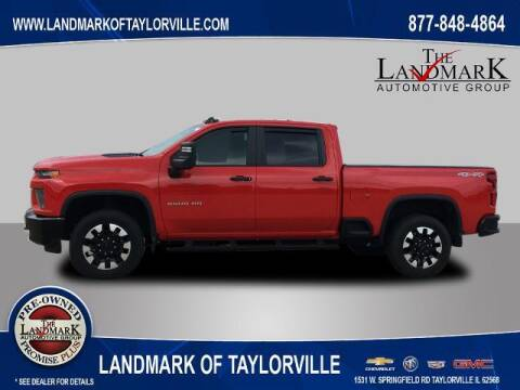 2020 Chevrolet Silverado 2500HD for sale at LANDMARK OF TAYLORVILLE in Taylorville IL