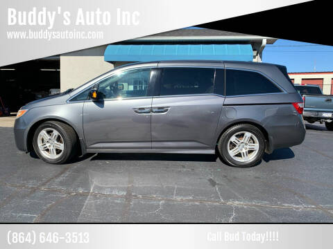 2012 Honda Odyssey for sale at Buddy's Auto Inc in Pendleton, SC