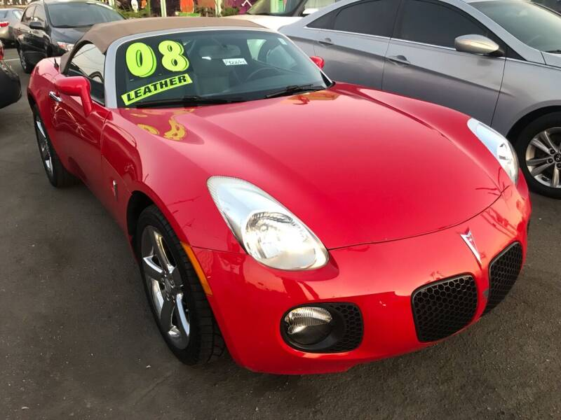 2008 Pontiac Solstice for sale at CAR GENERATION CENTER, INC. in Los Angeles CA