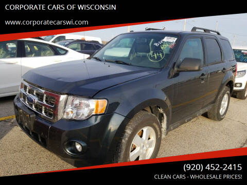 2009 Ford Escape for sale at CORPORATE CARS OF WISCONSIN - DAVES AUTO SALES OF SHEBOYGAN in Sheboygan WI