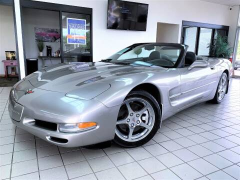 2002 Chevrolet Corvette for sale at SAINT CHARLES MOTORCARS in Saint Charles IL