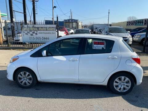 2013 Toyota Yaris for sale at Debo Bros Auto Sales in Philadelphia PA