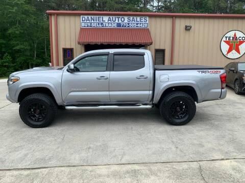 2017 Toyota Tacoma for sale at Daniel Used Auto Sales in Dallas GA
