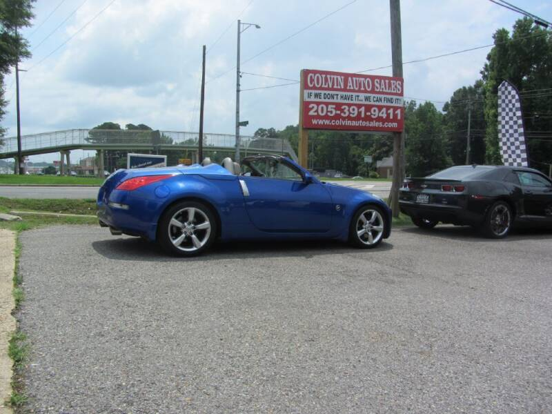 2006 Nissan 350Z for sale at Colvin Auto Sales in Tuscaloosa AL