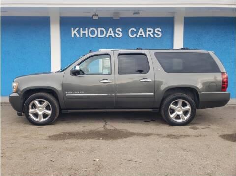2011 Chevrolet Suburban for sale at Khodas Cars in Gilroy CA