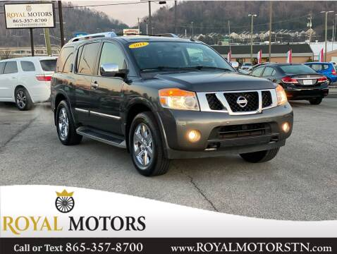 2011 Nissan Armada for sale at ROYAL MOTORS LLC in Knoxville TN