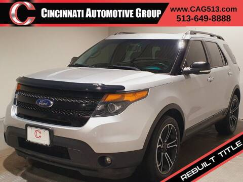 2014 Ford Explorer for sale at Cincinnati Automotive Group in Lebanon OH
