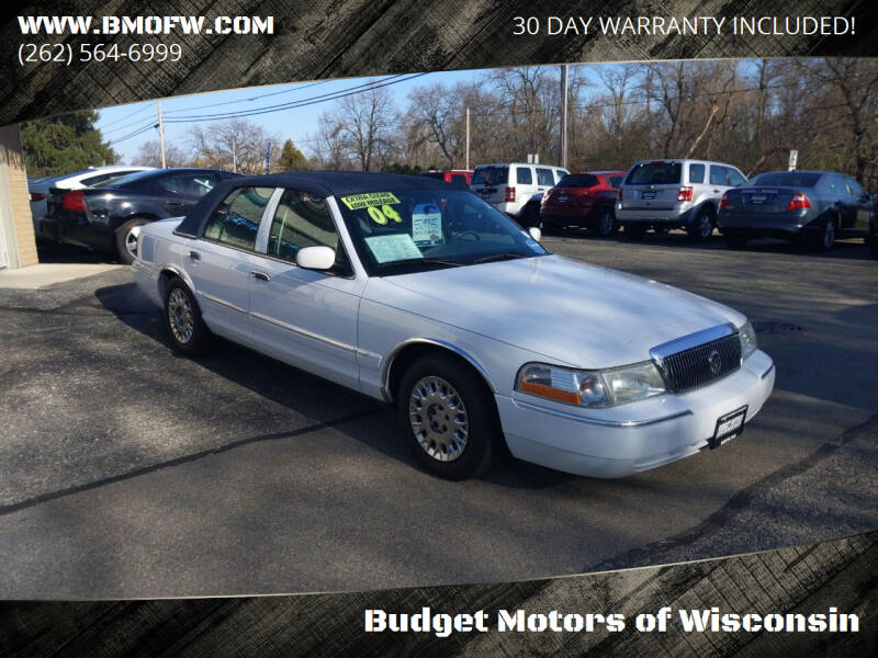 2004 Mercury Grand Marquis for sale at Budget Motors of Wisconsin in Racine WI