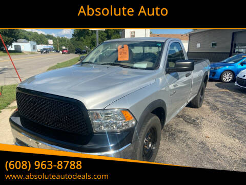 2009 Dodge Ram Pickup 1500 for sale at Absolute Auto in Baraboo WI
