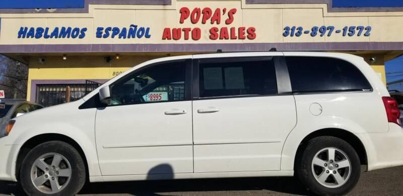 2012 Dodge Grand Caravan for sale at Popas Auto Sales in Detroit MI