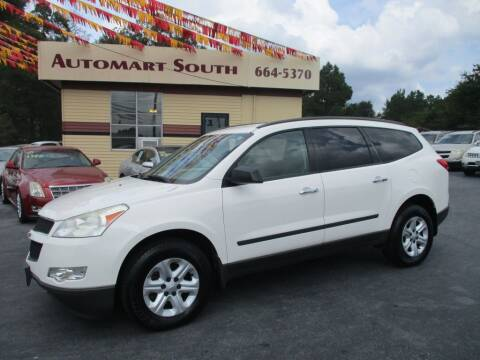 2012 Chevrolet Traverse for sale at Automart South in Alabaster AL
