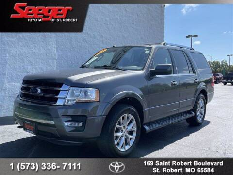 2017 Ford Expedition for sale at SEEGER TOYOTA OF ST ROBERT in Saint Robert MO