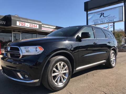 2018 Dodge Durango for sale at NORRIS AUTO SALES in Oklahoma City OK