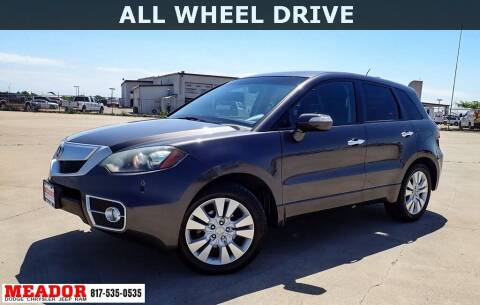 2010 Acura RDX for sale at Meador Dodge Chrysler Jeep RAM in Fort Worth TX