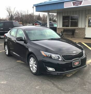 2015 Kia Optima for sale at Clapper MotorCars in Janesville WI