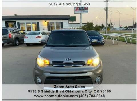 2017 Kia Soul for sale at Zoom Auto Sales in Oklahoma City OK