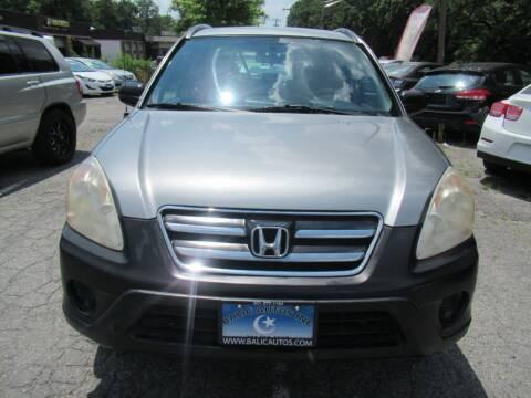 2006 Honda CR-V for sale at Balic Autos Inc in Lanham MD